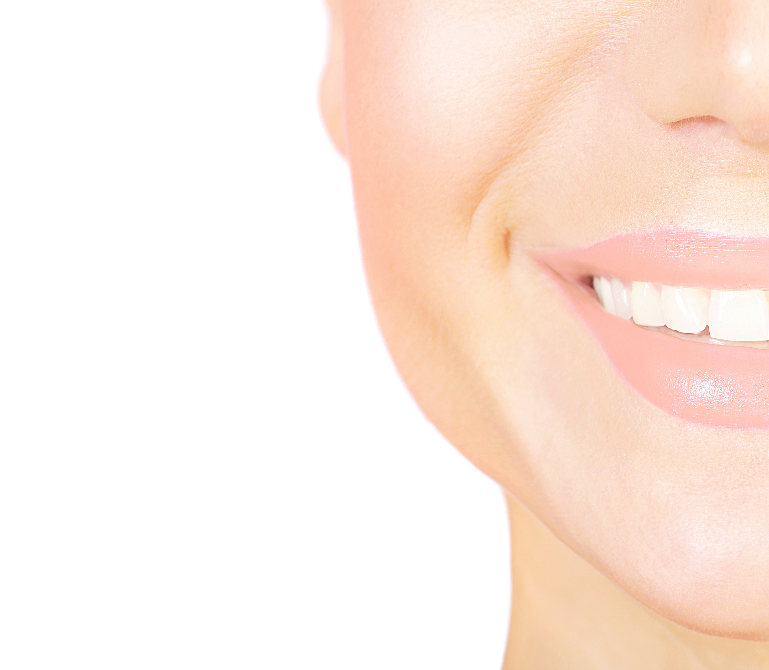 Woman with perfect smile to illustrate foods to avoid with porcelain veneers